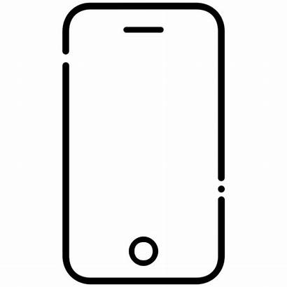 Iphone Icon Mobile Phone Cell Device Instrument