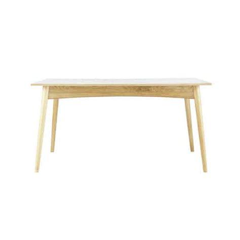 table de salle 224 manger 224 rallonges en bois blanche l 150 cm boop maisons du monde
