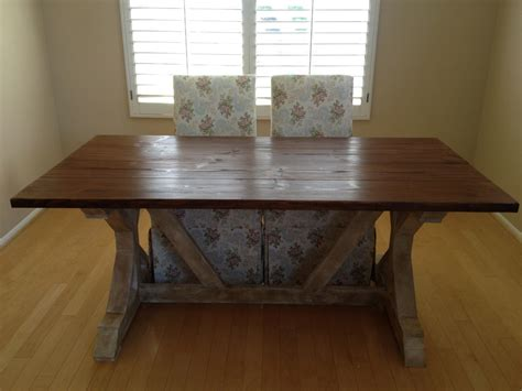 ana white fancy  farmhouse table diy projects
