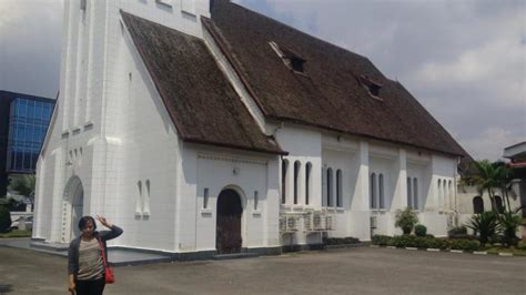 gereja immanuel tertua  medan sempat dijadikan gudang