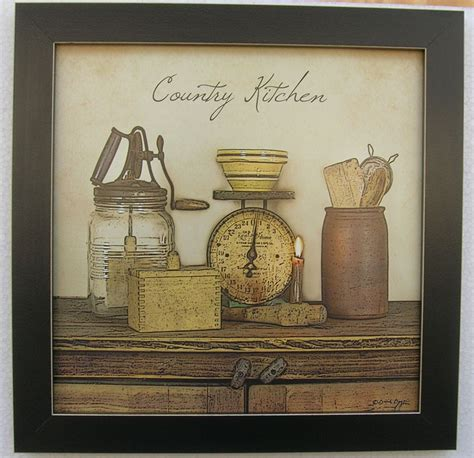 country kitchen prints country kitchen primitive print antique scales framed 2866
