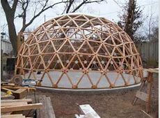 Geodesic Dome Building in a Minute and a Half YouTube