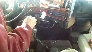 Shifting Eaton-fuller 13 Speed Transmission