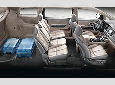 2016 Kia Sedona Lounge Seating and SlideNStow Seats