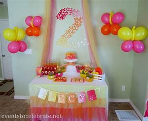 Butterfly Themed Birthday Party: Food & Desserts - events