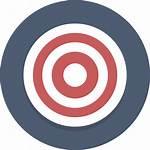Target Transparent Svg Bullseye Background Icon Clipart