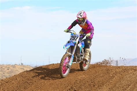 how to get into motocross racing transworld motocross race series profile sydney johnston
