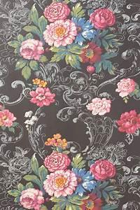 Tapeten Muster Wände : venetian bouquet wallpaper by york wallcoverings anthropologie flowers pinterest ~ Markanthonyermac.com Haus und Dekorationen