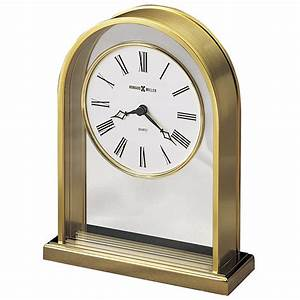 Howard, Miller, Reminisce, Mechanical, Table, Clock, 613118