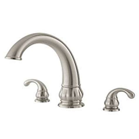 price pfister tub faucet price pfister treviso 806 dk1 brushed nickel tub