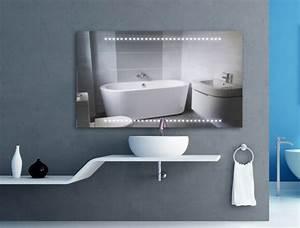 Badspiegel Mit Led Beleuchtung Und Ablage : badspiegel led lineo wandspiegel led spiegel led ~ Bigdaddyawards.com Haus und Dekorationen