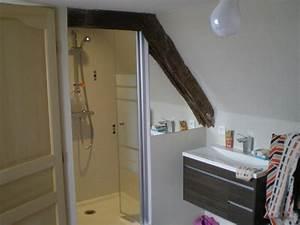 deco salle de bain sous comble With exemple de salle de bains sous comble