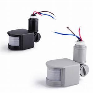 Putting Outside Potlights On A Motion Sensor