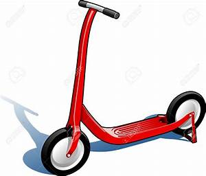 Kick scooter clipart - Clipground