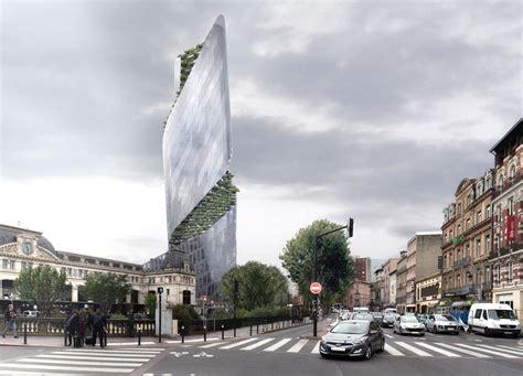 cabinet l immeuble toulouse le projet de gratte ciel de toulouse dans le quartier matabiau le futur gratte ciel de
