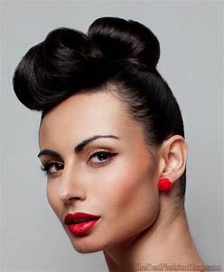 50s Hairstyles Updos Hairstyles Ideas
