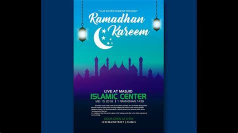Desain poster ramadhan 2021 anak simple dan keren. Membuat Poster Keren Kegiatan Ramadhan Corel Draw - YouTube