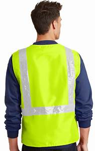 Small Clothing Size Chart Men 39 S High Visibility Neon Vest With Reflective Tape