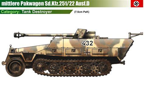 sd kfz 251 22 ausf d ww ii germany land vehicles vehicle and