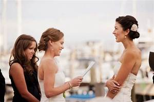wedding vows lesbian couples clubandinistacom With lesbian wedding ceremony readings