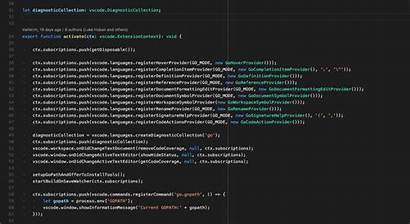 Code Language Extensions Lens Visual Studio Features