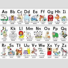 """My Abc Alphabet Learn Table Fabric Poster 17"""" X 13"""" Decor 13in Painting & Calligraphy From Home"""
