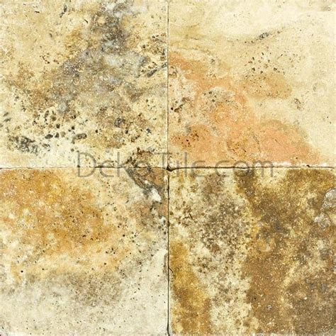 4 x 4 scabos travertine tumbled tile deko tile