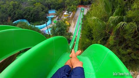 Drop Out Extreme Body Water Slide Pov