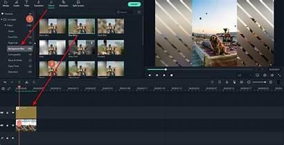 Blur Background Editing Filmora Editor Effect Wondershare