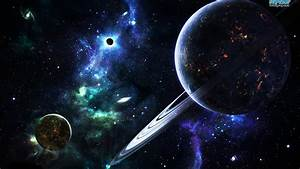 Space Abstract Galaxy Planet Rings Stars Hd Wallpaper 1087 ...