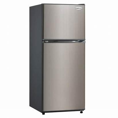 Stainless Premium Refrigerator Freezer Steel Ft Cu