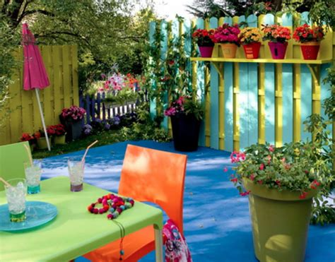Jardim Colorido  Dicas Para Colorir Sua Casa