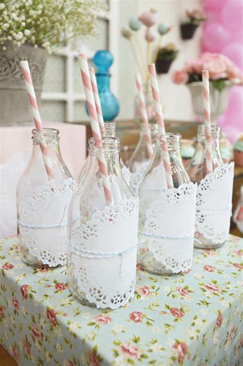 flaschen dekorieren geburtstag 25 ideen f 252 r dekoration zum geburtstag im garten