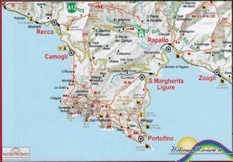 Cing Porto Santa Margherita by Ge 38 Monti Di Portofino Carte De Randonn 233 E Nostromoweb