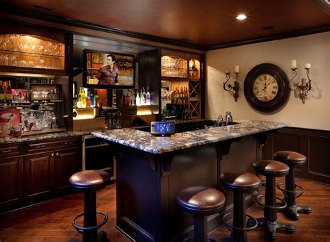 Great Home Bars by Home Bar Counter Dimensions Basement Home Bar Designs