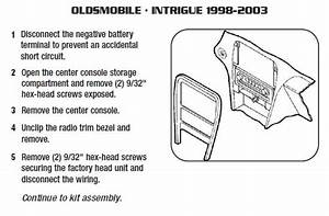 2001 Oldsmobile Intrigue Installation Parts  Harness  Wires  Kits  Bluetooth  Iphone  Tools
