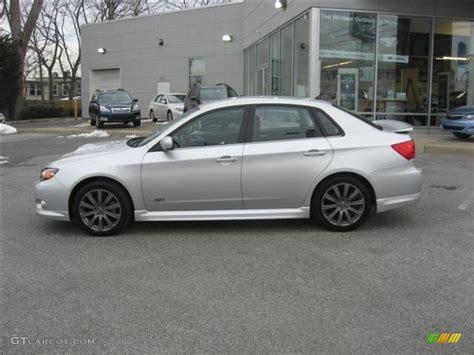 silver subaru spark silver metallic 2010 subaru impreza wrx sedan