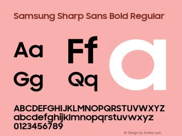 Samsung Fonts Ttf