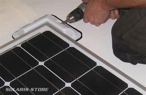 batteries de cuisine fixation et raccordement d 39 un panneau solaire pour cing