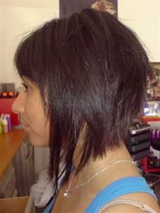 Comment Faire Un Carré Plongeant : modele de coiffure coupe au carre plongeant ~ Dallasstarsshop.com Idées de Décoration