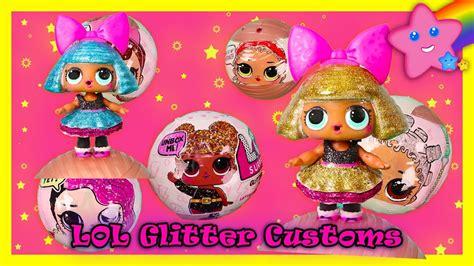 Lol Surprise Glitter Balls How To Customize Diva Custom