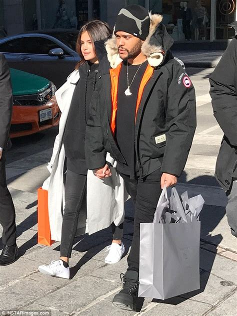 The Weeknd takes Selena Gomez for a stroll in Toronto ...