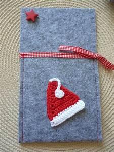 Weihnachten Nähen Ideen : bestecktasche nikolausm tze weihnachten filz gen ht handarbeit motiv geh kelt weihnachten ~ Eleganceandgraceweddings.com Haus und Dekorationen