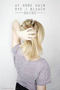 My Guide To At Home Hair Dye And Bleach Lightening  With