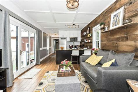 spacious  rustic sf dreamwood tiny house  sale