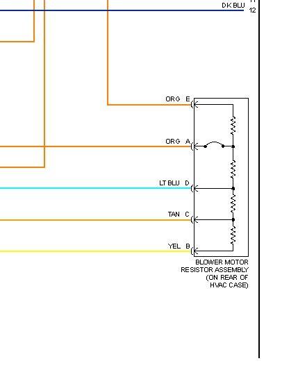 Hummer H3 Light Wiring Diagram by 2006 Hummer H3 Blower Motor Resistor Need Wiring Diagram