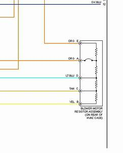 2006 Hummer H3 Blower Motor Resistor  Need Wiring Diagram