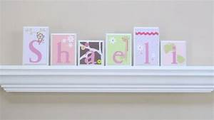 wall letters routed edge nursery name blocks nursery With wood letter blocks nursery