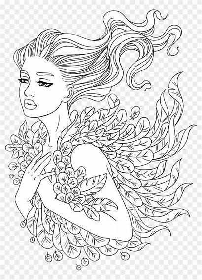 Coloring Adult Pages Sheets Artsy Pngio Transparent