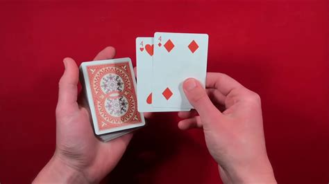 All you are going to need for this trick is a deck of cards. Card Trick for Beginners - YouTube